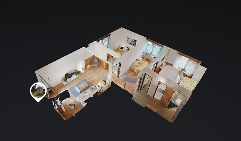 Virtualni prohlidka nemovitosti na prodej