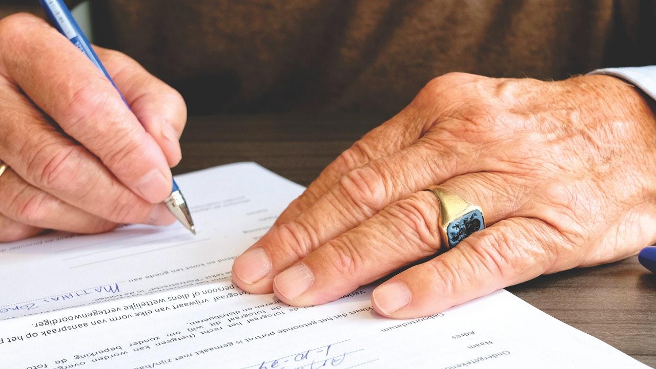 podpis kupni smlouvy